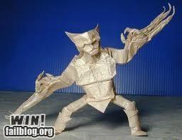 Wolverine Origami WIN