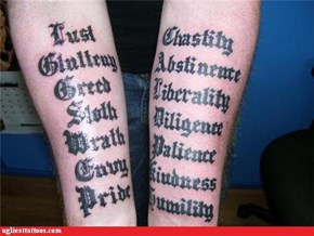 Consider Abstinence from Getting Any More Tattoos