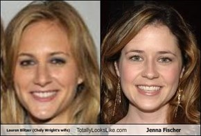 Lauren Blitzer (Chely Wright's wife) Totally Looks Like Jenna Fischer