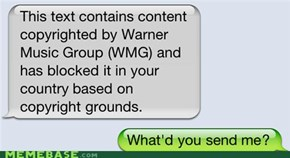 WMG Is Monitoring Your Texts