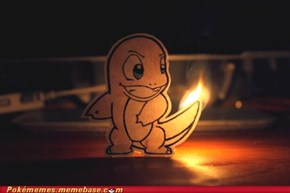 Charmander, You Can Light My Fire