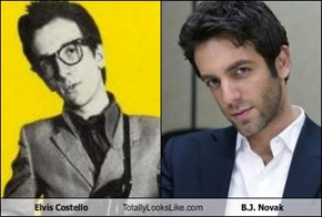Elvis Costello Totally Looks Like B.J. Novak