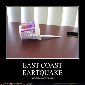 EAST COAST EARTQUAKE