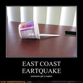 EAST COAST EARTQUAKE