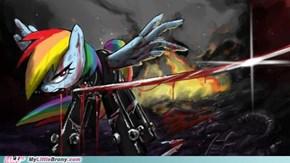 rainbow slash