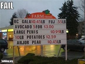 Farm Fresh FAIL