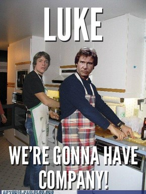 Star Wars Dinner Party