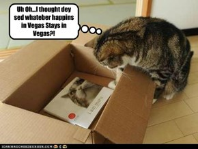 Uh Oh...I thought dey sed whateber happins in Vegas Stays in Vegas?!