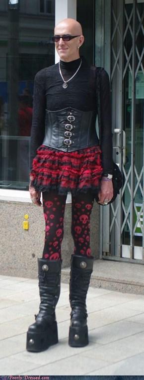 Go Go Gothic Corset