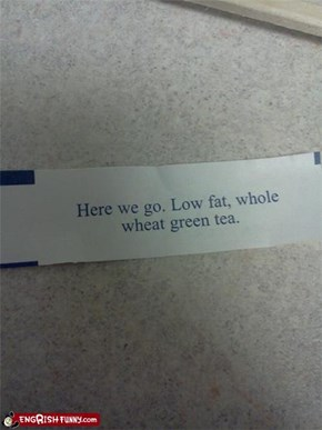 Fortune Cookie Friday: Eat Healthy