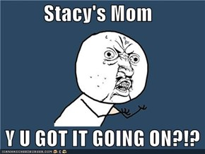 Stacy's Mom     Y U GOT IT GOING ON?!?