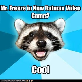 Mr. Freeze in New Batman Video Game?