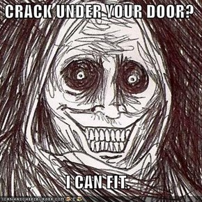 CRACK UNDER YOUR DOOR?  I CAN FIT.