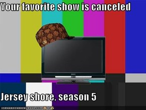 Your favorite show is canceled  Jersey shore, season 5
