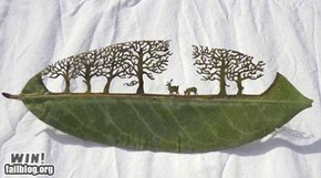 Leaf Cut Art Win