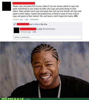 Yo Dawg, I Heard You Like Spam