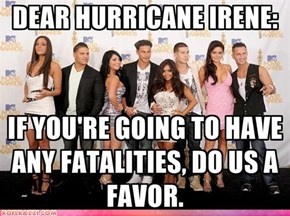 Yo Irene, Help Me Out Here...