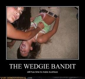 THE WEDGIE BANDIT