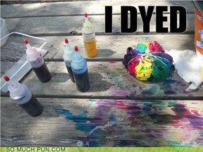 DID HE DYEDED?