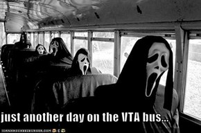 just another day on the VTA bus...