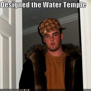 Designed the Water Temple