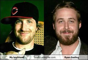 My boyfriend Totally Looks Like Ryan Gosling