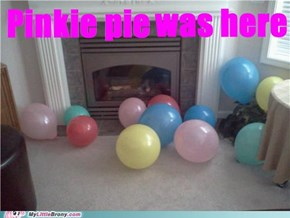 Balloons....everywhere