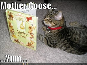 Mother Goose...  ...Yum...