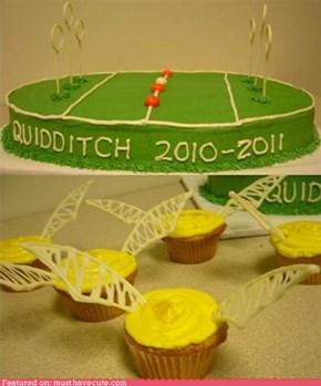 Epicute: Quidditch Club Desserts