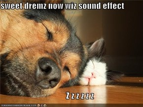 sweet dremz now wiz sound effect                                         Z z z z z z