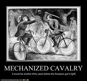 MECHANIZED CAVALRY