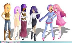 Ponies IRL: Perfect Personalities