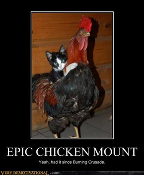 EPIC CHICKEN MOUNT
