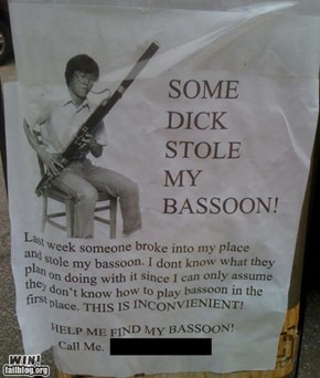 Lost Bassoon WIN