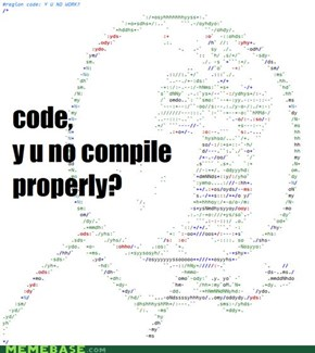 Source Code, Y U NO WORK?