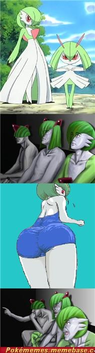 Everybody is furry for Gardevoir.