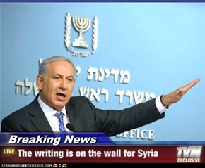 Breaking News - The writing is on the wall for Syria