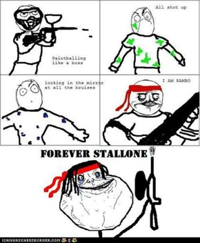 Forever Alone: Paintball Rambo