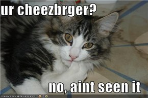 ur cheezbrger?  no, aint seen it