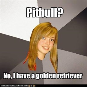 Musically Oblivious Eight Grader: Pitbull