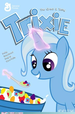 Silly Parasprites, Trix-ie Is For Bronies