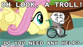 Fluttershy Helps Everyone
