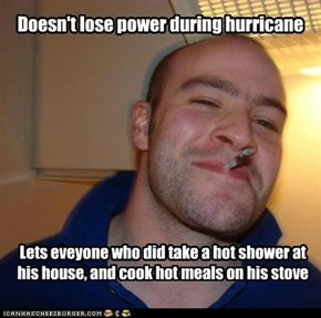 Doesn't lose power during hurricane