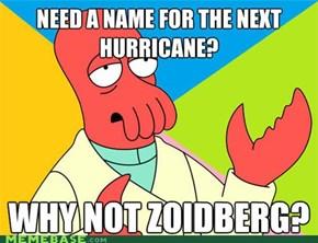 Hurricane Zoidberg
