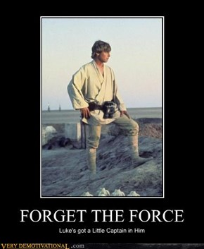 FORGET THE FORCE