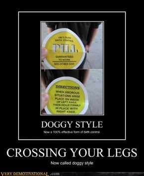 CROSSING YOUR LEGS
