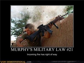 Murphy's Military Law #21