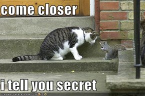 come closer  i tell you secret