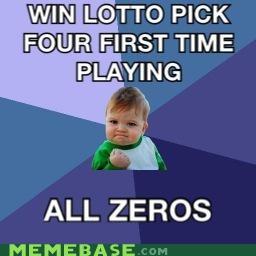"Success Kid - ""Lotto"""