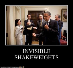 INVISIBLE SHAKEWEIGHTS
